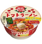 『太陽のトマト麺』のカップラーメン!スープにご飯を入れるとリゾットふうに