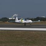 エアバスの電気飛行機『E-Fan』が英仏海峡横断飛行に成功