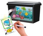 水槽にiPhoneで魚を泳がせる?納涼おもちゃ『おえかきすいそう ピクチャリウム』