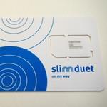 たった1枚のSIMで格安に各国の通話&データプランが使える『slimduet』を試してみた:MWC 上海 2015