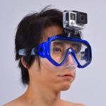 GoProマウント付きダイビングマスクで水中撮影を快適化