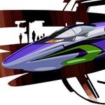 エヴァンゲリオンが今度は新幹線に新大阪⇔博多を再来年まで走行