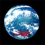 ひまわり8号動画映像+球面ディスプレーでほぼリアルタイム地球儀つくってみた