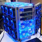 エアコン要らずの42連ファン!世界一涼しいパソコンが爆誕
