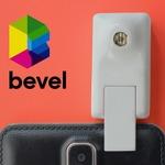 スマホやタブレット用3D撮影デバイス『Bevel』が39ドルと激安