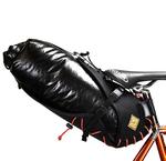 オルトリーブのドライバッグが自転車のサドルに付くなんて夢のよう