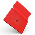 純正スマートカバーとの併用に最適!ほどよい硬さのiPad Air2背面メッシュケース