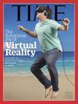 TIME「VR特集」表紙がひどすぎると話題 雑コラも続々あらわれ祭り状態に