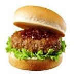厚さ2㎝の肉を挟んだ「肉厚ハンバーガー」がロッテリアから!もうすぐ食欲の秋