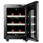 ワインを理想的な状態で保管できる!スタイリッシュな6本収納静音ワインセラー
