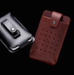 ベルトに取り付ける本革製iPhone 6/6 Plusケースがレトロモダンで渋い!