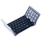 三つ折りで超コンパクトなBluetoothキーボードならスマホやタブレットで快適文字入力