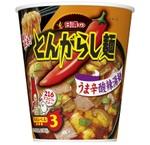とんがらし麺デビューに!黒酢がまろやかな「うま辛酸辣湯麺」発売
