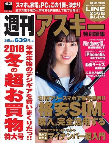 週刊アスキー特別編集 冬の超お買物特大号(2015年11月30日発売)