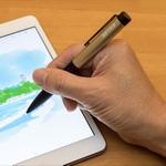 iPad miniで細かいメモ書きもラクラク! 電池で動くアクティブスタイラスペンの使用感