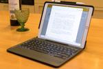 10.5インチiPad Proを約1kgの2in1 PCに変えるバックライト付きキーボードケースを触る