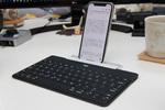 iPhoneやiPadでしっかり打てる、厚さ6mmの激薄キーボード