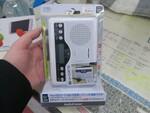 カセットとラジオ音源を録音できるmicroSD対応のポータブルラジカセ