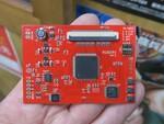 レトロゲーム機の液晶を換装! 高画質化できる新型の制御基板