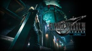「FF VII リメイク」体験版がPS Storeで配信スタート