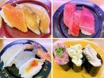 スシロー名物「三貫盛り祭」全皿食べた結果100円皿のコスパに驚きました