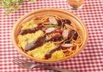 """ファミマ、太麺が魅惑のパンチョ監修「大盛ナポリタン」今度は""""オムナポ"""""""