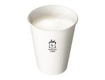 ローソン「ホットミルク」半額 牛乳の消費支援