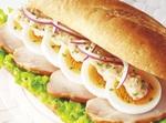 ドトール春の和風ミラノサンド「味噌ジンジャーソース」が味の決め手