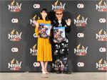 発売日前日の『仁王2』完成発表会、俳優・竹中直人さんと朝ドラ女優・波瑠さんも出演