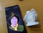 Xperia 1の「3Dクリエーター」のデータを3Dプリンターで印刷した結果