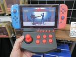 Nintendo Switchに直結して使えるアーケードコントローラー
