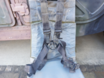 米軍ヘリUH-60Aブラックホークのシート(イス)を買いました