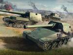 「World of Tanks Blitz」に日本の駆逐戦車4車輛が登場