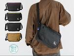 B5サイズの荷物が収納できる、使いやすさバツグンのメッセンジャーバッグ
