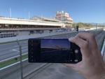 レーシングカーもXperia 1の高速連写でバッチリ撮れる!