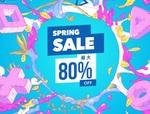 PS Storeで最大80%OFFのセール「SPRING SALE」が開催!(4月28日まで)