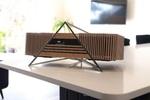 iFi-Audioから竹筐体の一体型オーディオ「AURORA」、高度な音場補正機能も内蔵