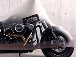 伸縮率160%の高強度ストレッチ素材を使ったバイクカバー