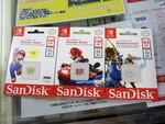 マリオやゼルダ仕様に! Nintendo Switch正式対応のmicroSDが発売