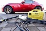 マツダ ロードスターRFの洗車に高圧洗浄機がオススメ