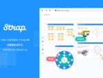 テキストや図をリアルタイムで共同編集できるクラウドワークスペース「Strap」 β版の利用登録開始