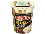 東洋水産「麺や福一」とコラボしたカップ麺