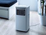 キャスター付きでお部屋間の移動も便利! 冷風・送風・除湿モード搭載の移動式エアコン