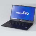 1.1kgで公称最大25時間駆動の14型モバイルノートPC「MousePro NB4」は第10世代CoreとM.2 SSDで仕事の強い味方に!