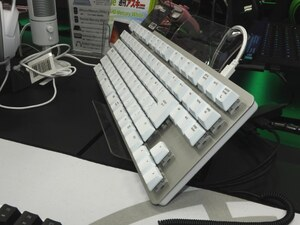 人気のRazer製テンキーレスキーボードに日本語配列モデルが追加