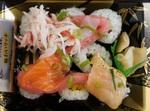 ファミマ「のっけ寿司」細巻に海鮮がのっていて楽しい!
