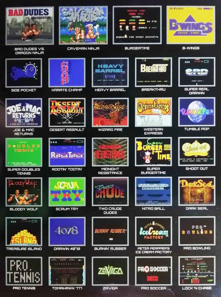 【ゲーム/レトロ】34タイトルを収録した筐体型ゲーム機「データイースト クラシックコレクション」が発売