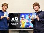 本日発売の『AOテニス 2』で現役プロテニス選手&コーチの対戦動画を配信