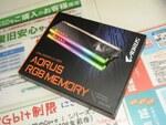 ダミーモジュールがセットのGIGABYTE製発光DDR4メモリーに高速モデル