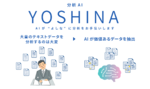 レトリバ、テキストデータ分析AI「YOSHINA」の先行販売を開始